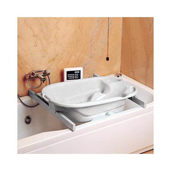 Vaschetta bagnetto okbaby barre per appoggio vaschetta - Supporto per vasca da bagno ...
